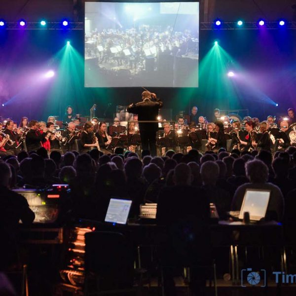 Concert Wilhelmina orkest en Popkoor a lot of
