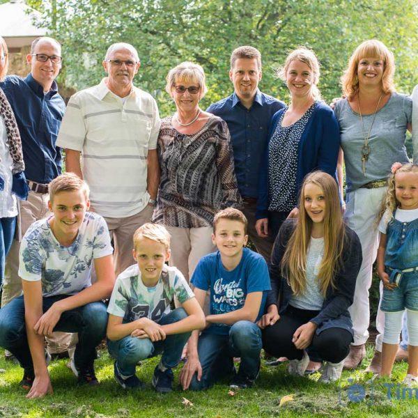Fotoshoot familie Dekkers